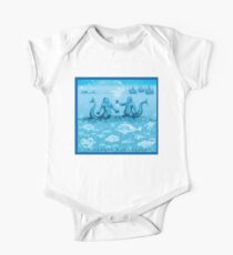Natural History in Ocean Blue | CreateArtHistory Kids Clothes