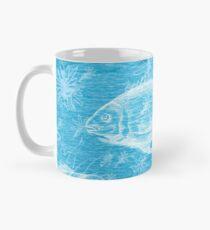 Natural History in Ocean Blue   CreateArtHistory Mug