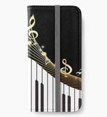 Ivory Keys Piano Music iPhone Wallet/Case/Skin