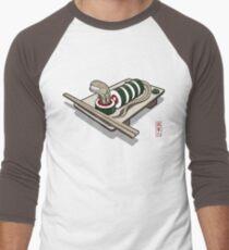Xenomaki Men's Baseball ¾ T-Shirt