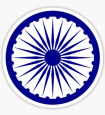 Ashoka Chakra Sticker