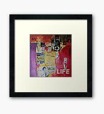laissez passer la vie Framed Print