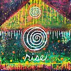Rise - An Inner Power Painting by mellierosetest