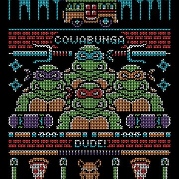 Teenage Mutant Ugly Sweater! by Brandon89