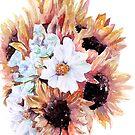 Sunflower Bouquet by artofsuff