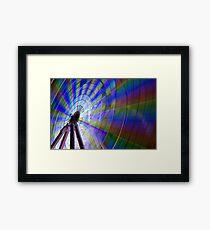 Colour Wheel Framed Print