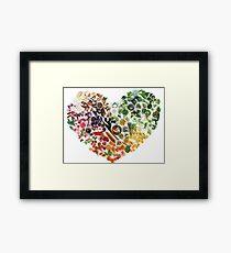 150 Days of Love, Fruit and Veggies Framed Print
