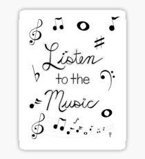 Listen to the Music Sticker