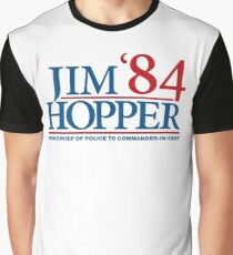 Jim Hopper Graphic T-Shirt