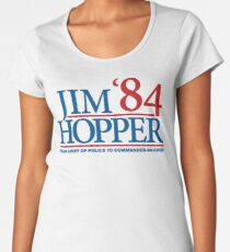 Jim Hopper Women's Premium T-Shirt