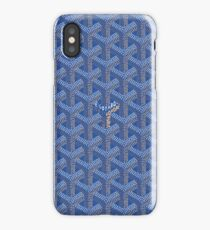 Blue Goy Goyard iPhone Case/Skin