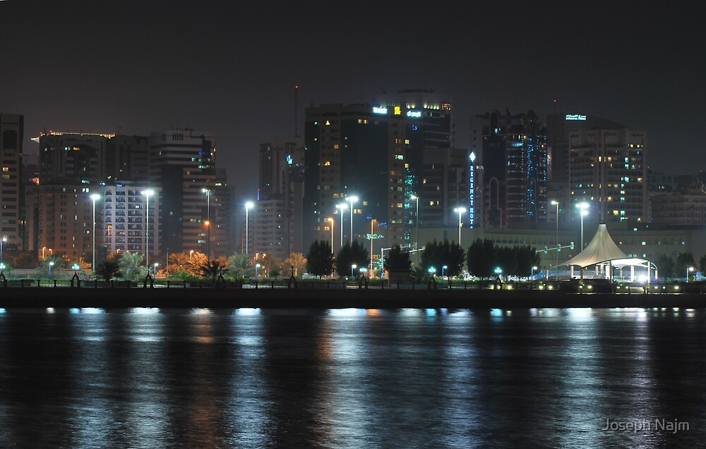 City at Night II by Joseph Najm