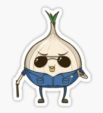 Officer Onion - The Toughest Onion on the Internet - HaxByte Sticker