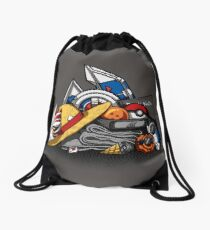 Anime Shonen & Monsters Drawstring Bag