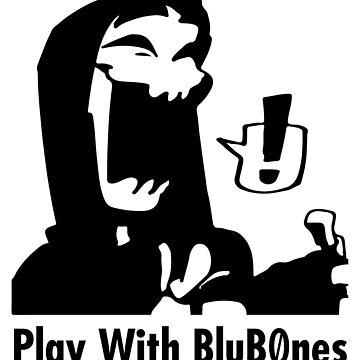 Original BluB0nes Logo B by Blub0nes