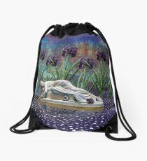 Lady of the Lake Drawstring Bag