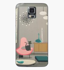 cat in room  Case/Skin for Samsung Galaxy