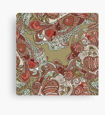 Ornate pattern Canvas Print