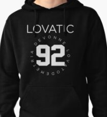 Lovatic-- White Pullover Hoodie