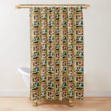 Tiki Time Shower Curtain