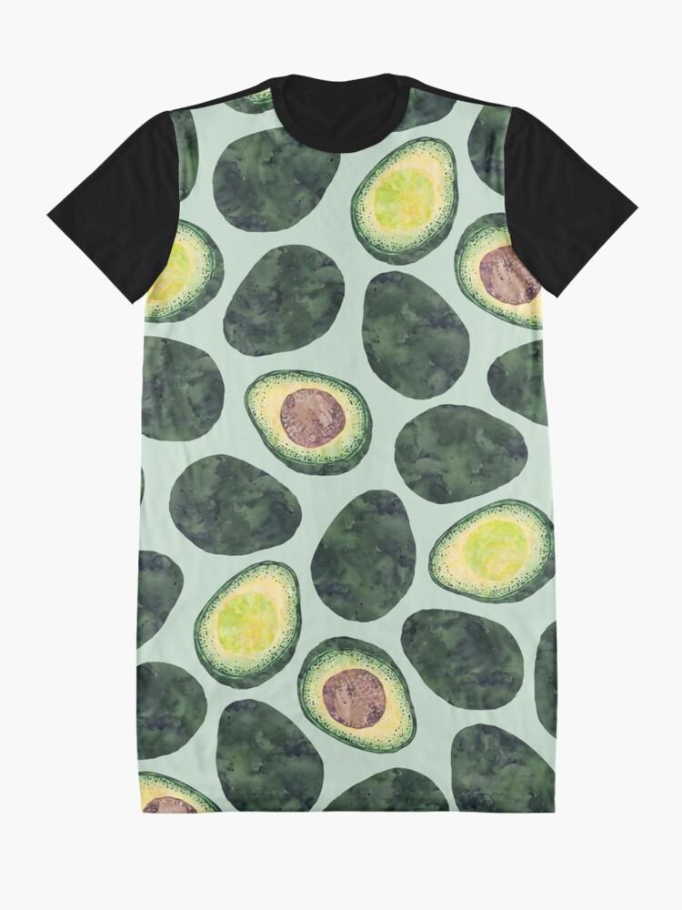 Alternate view of Avocado Addict Graphic T-Shirt Dress