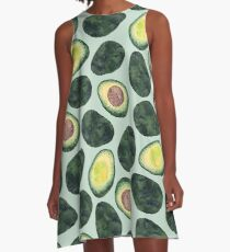 Avocado Addict A-Line Dress