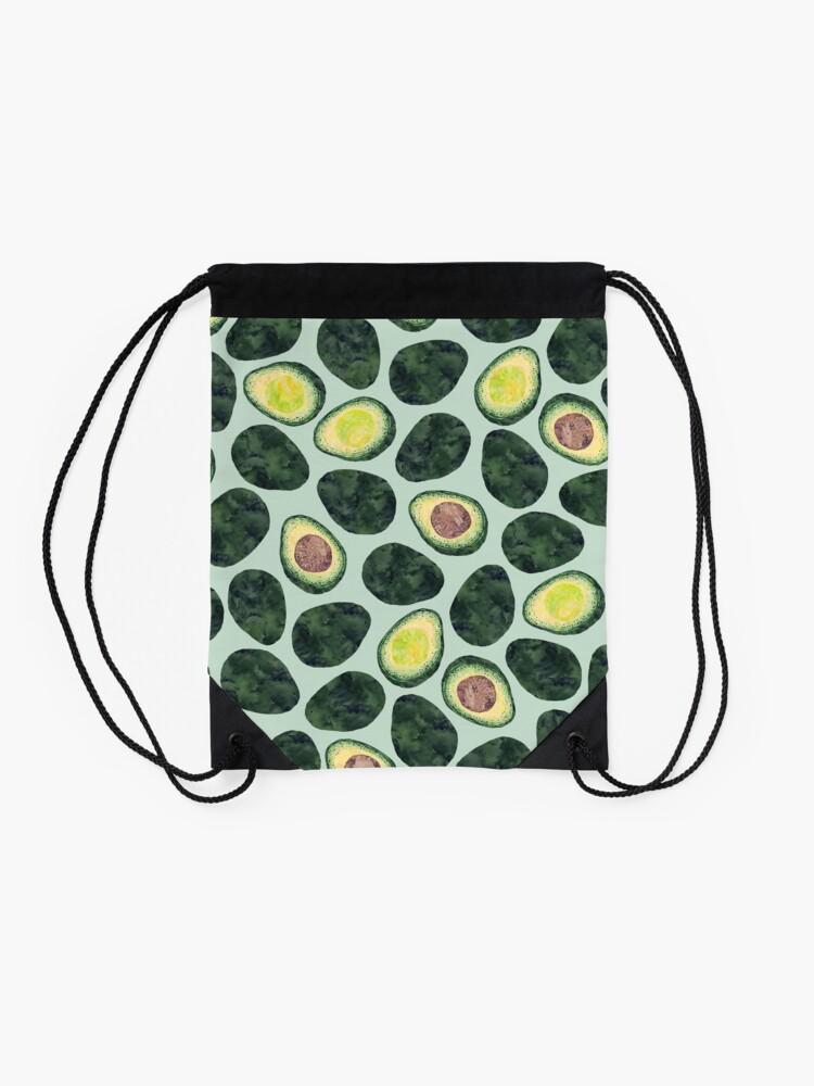 Alternate view of Avocado Addict Drawstring Bag