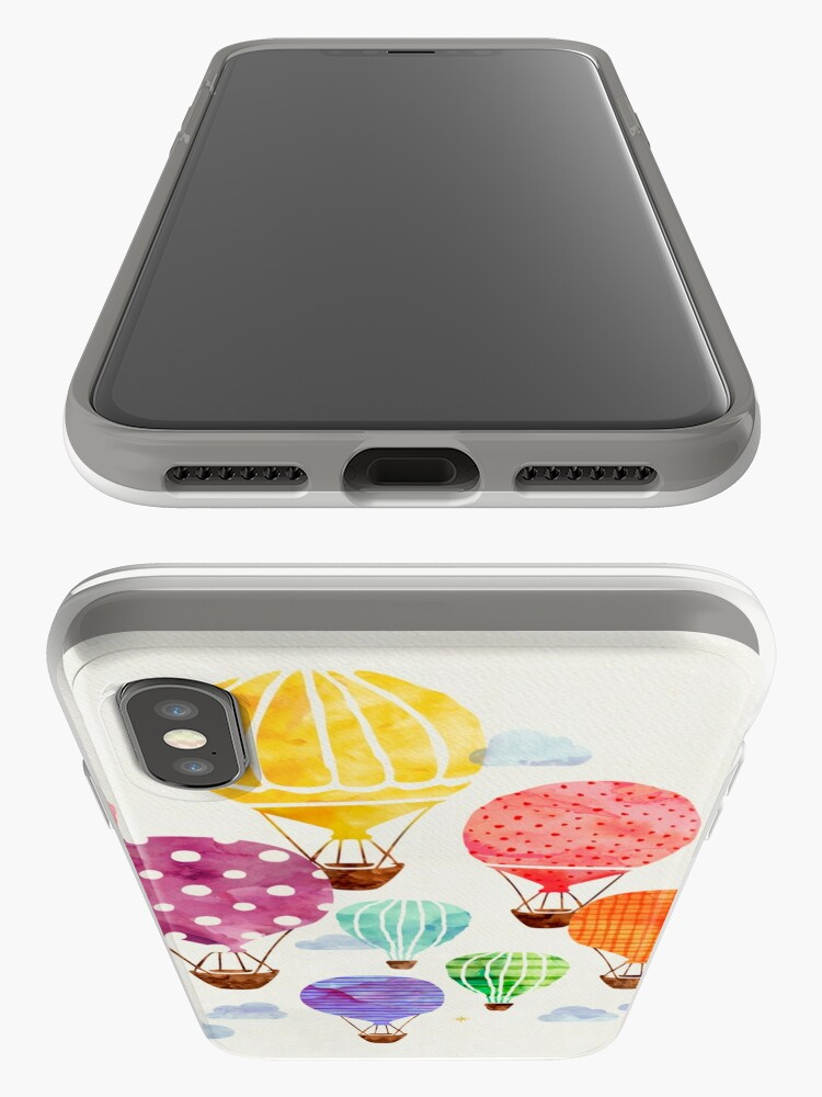 Alternate view of Hot Air Balloon iPhone Cases & Covers
