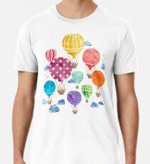Hot Air Balloon Night Premium T-Shirt