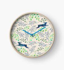 Bunny Dreams Clock