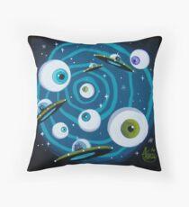 Spacetastic Throw Pillow