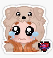 SADPUPPY MistyVicious Emote Sticker