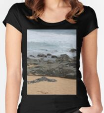 It was love at first sight... the day I met The Beach Women's Fitted Scoop T-Shirt