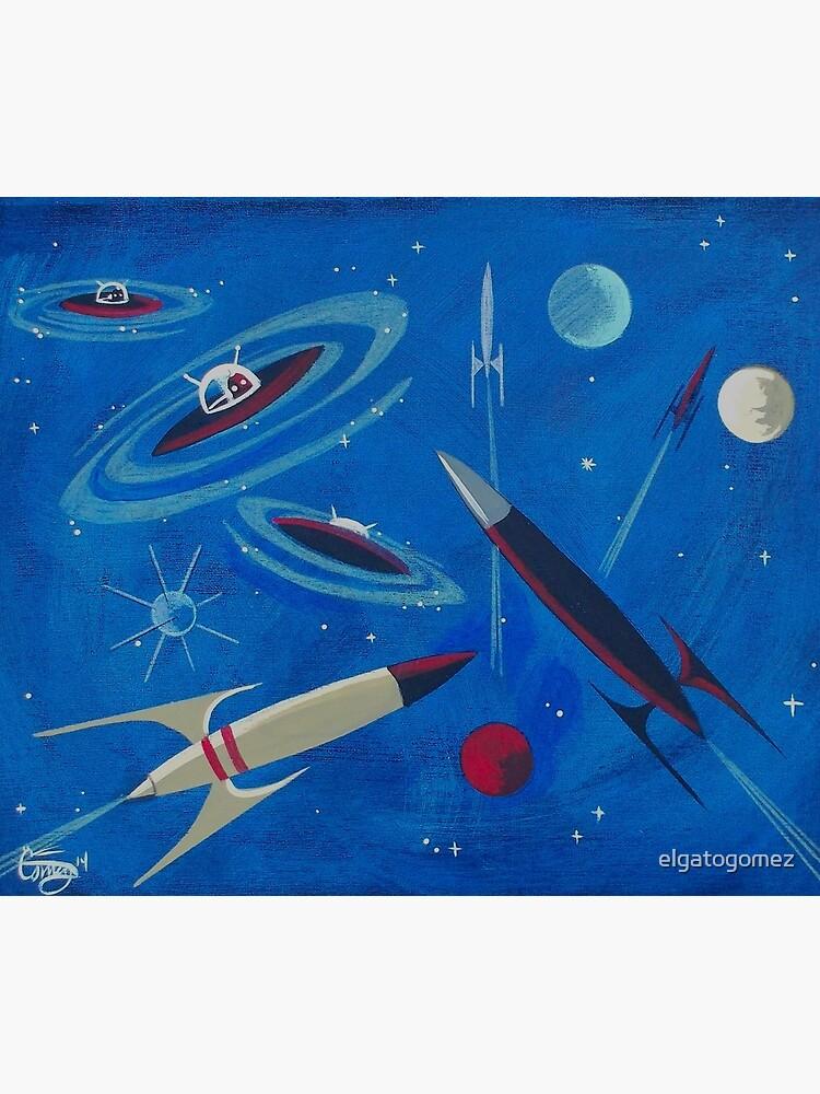 Space Ship  by elgatogomez
