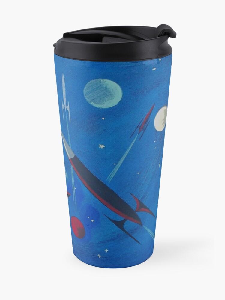 Alternate view of Space Ship  Travel Mug