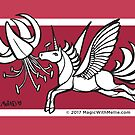 Nectar Uniquorn - #inktober 2017 unicorn illustration by mellierosetest