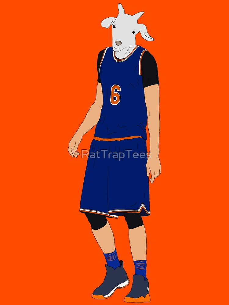 Kristaps Porzingis, The GOAT by RatTrapTees