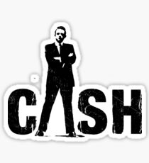 cool cash Sticker