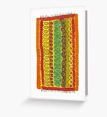 magic beachtowel Greeting Card