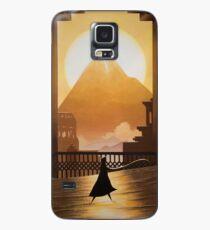 goldener Sand Hülle & Skin für Samsung Galaxy