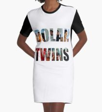 collage  Graphic T-Shirt Dress