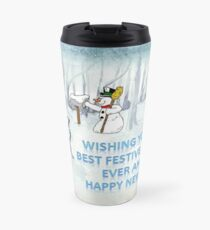 Wishing you the Best Festive Season ever! Travel Mug