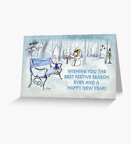 Wishing you the Best Festive Season ever! Greeting Card