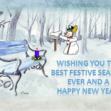 Wishing you the Best Festive Season ever! by MareeClarkson