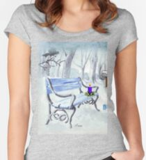 Wishing you the Best Festive Season ever! Women's Fitted Scoop T-Shirt