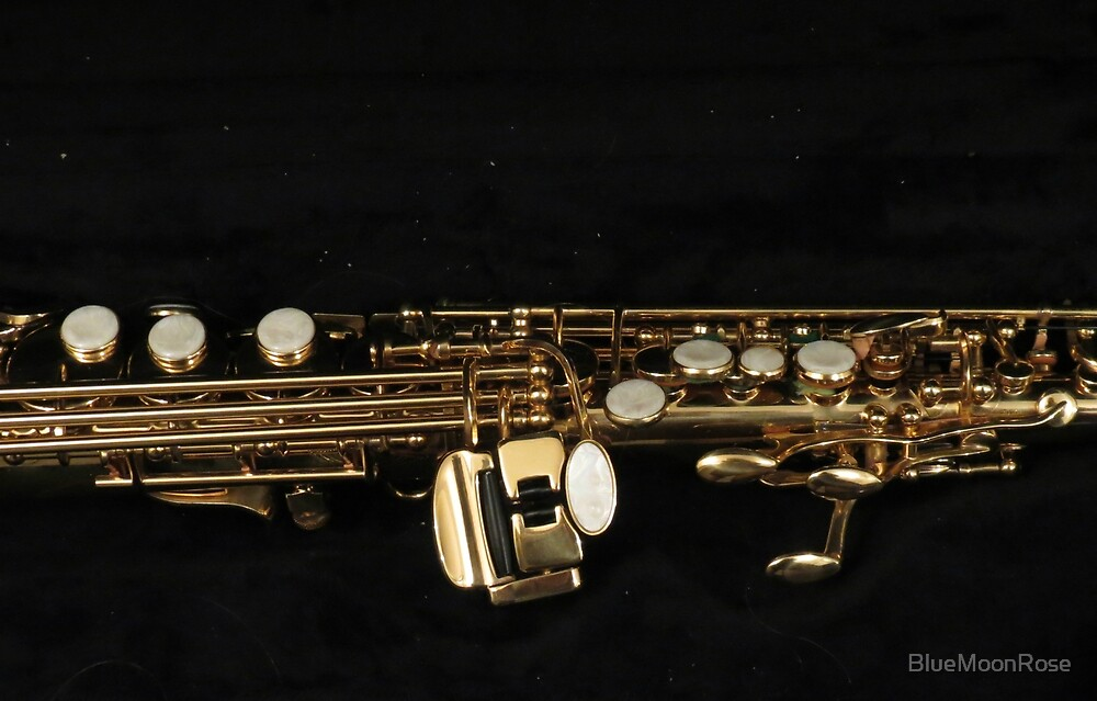 Soprano Sax - Side View von BlueMoonRose