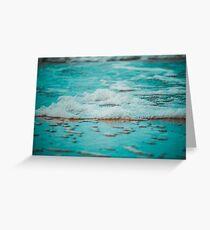 Sea Foams Greeting Card