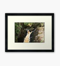 Waterfall Trail, Yorkshire Dales  Framed Print