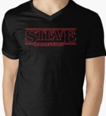 STEVE HARRINGTON Men's V-Neck T-Shirt