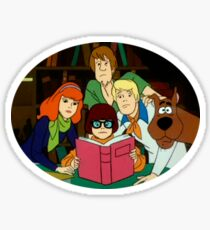 THE MYSTERY INC. GANG  Sticker